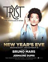 Bruno Mars New Years Eve Vegas