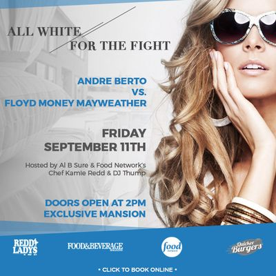 Mayweather Pre Fight Mansion Day Party